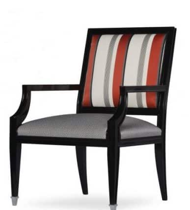 Adonita armchair side view