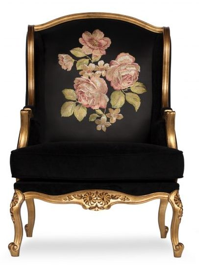 Enna classic chair golden