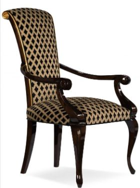 Dining chairs with armrests