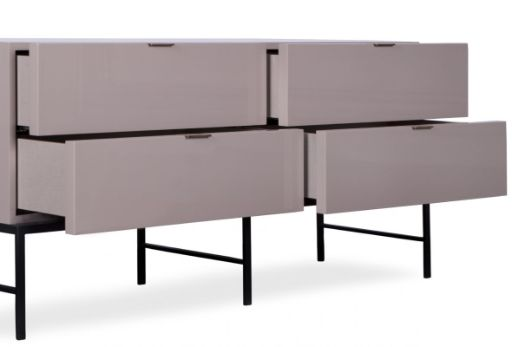 modern style elsa chest of drawers