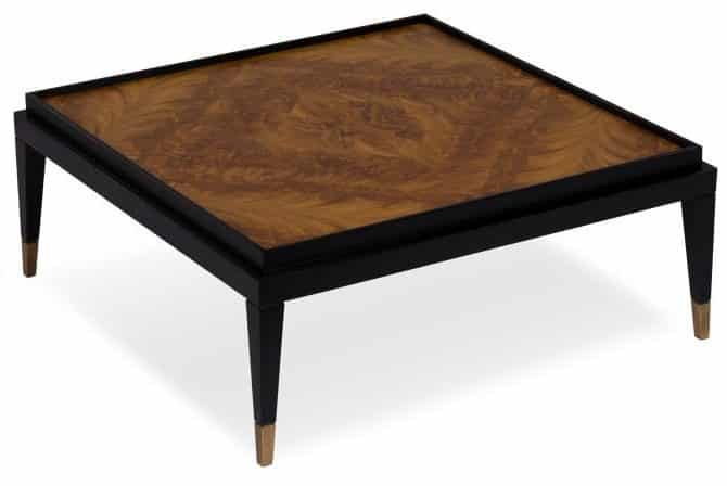 frame coffee table front view