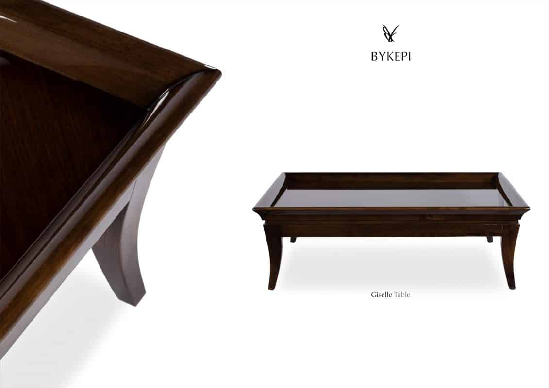 giselle coffee table front wooden