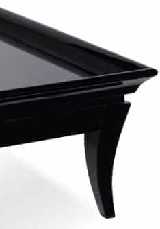 giselle coffee table corner black