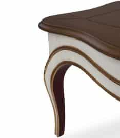 perla coffee table corner view