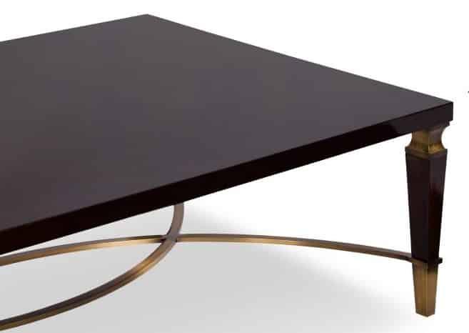 trevi coffee table corner view