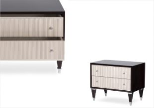 vogue night stand-2 drawers