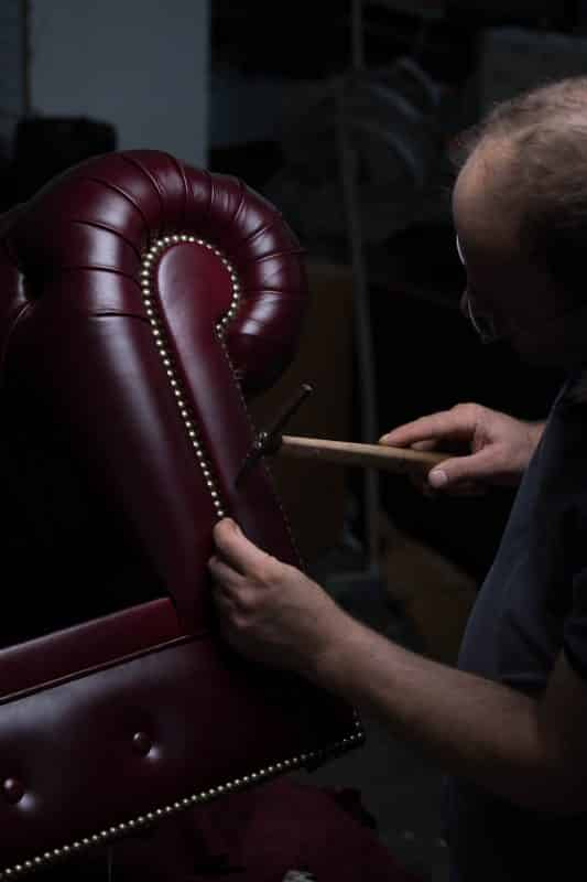 leather sofa handmade process