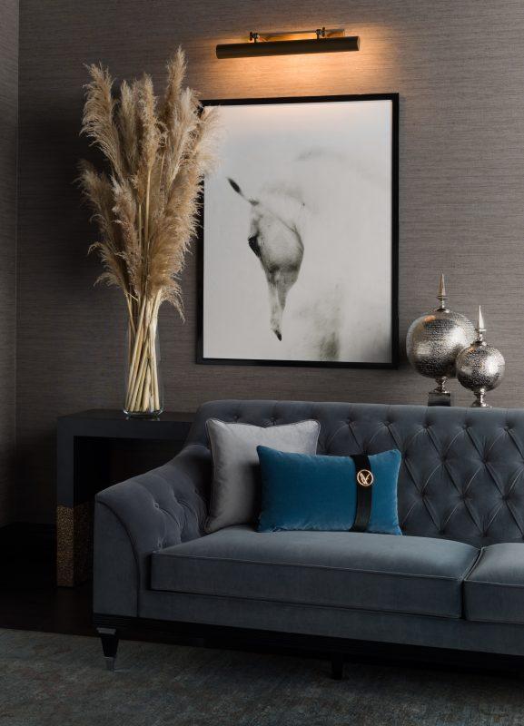 trust sofa grey