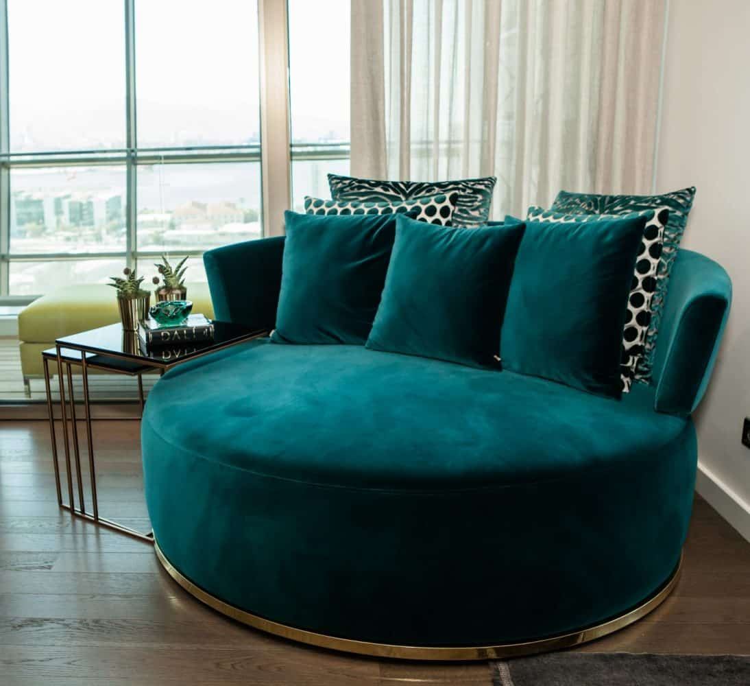 Round Love seat for Living area